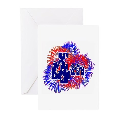 Fourth of July Greeting Cards (Pk of 10)