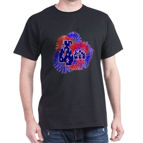 Fourth of July Dark T-Shirt