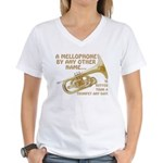 A Mellophone By Any Other Name Women's V-Neck T-Sh