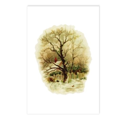 Winter Scene Postcards (Package of 8)