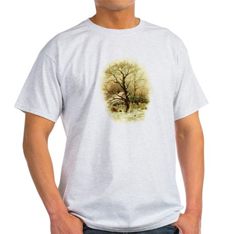 Winter Scene Light T-Shirt