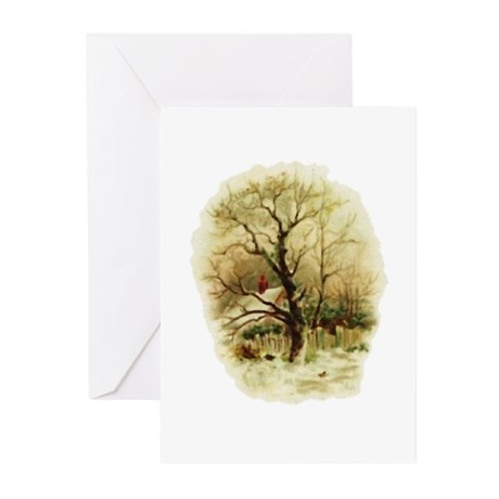 Winter Scene Greeting Cards (Pk of 10)