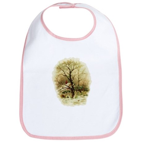 Winter Scene Bib