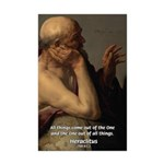 Ancient Greek Philosophy: Heraclitus Mini Poster P