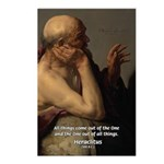 Ancient Greek Philosophy: Heraclitus Postcards (Pa