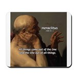 Ancient Greek Philosophy: Heraclitus Mousepad