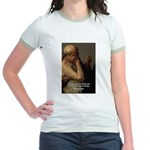 Ancient Greek Philosophy: Heraclitus Jr. Ringer T-