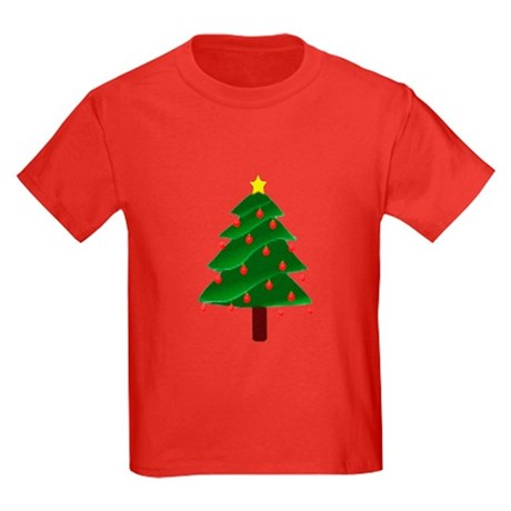 Christmas Tree Kids Dark T-Shirt