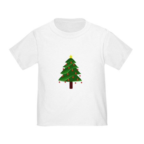Christmas Tree Toddler T-Shirt