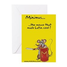 Minimus Greeting Cards (Pk of 10)