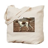 English Pointer Art Tote Bag