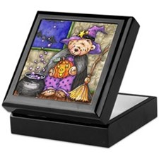 Teddy Bear Witch Keepsake Box
