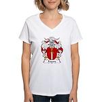 Espasa Family Crest Women's V-Neck T-Shirt