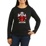 Espasa Family Crest Women's Long Sleeve Dark T-Shi