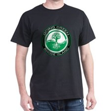 Going Green Green Rhode Island (Tree) T-Shirt
