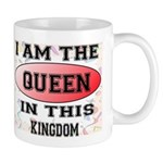 I AM THE QUEEN MUG
