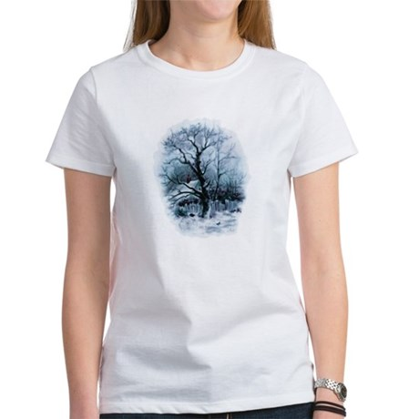 Winter Snowscene Women's T-Shirt