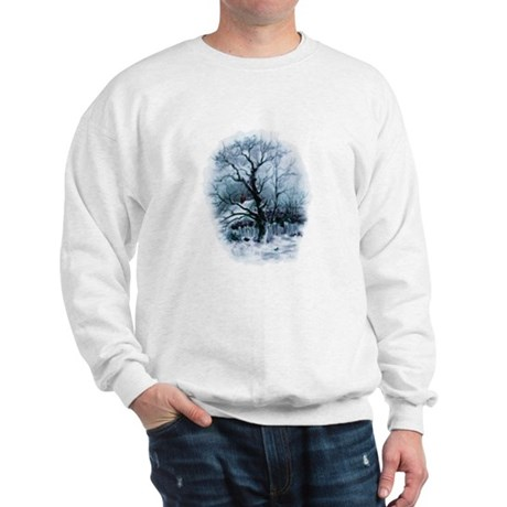 Winter Snowscene Sweatshirt