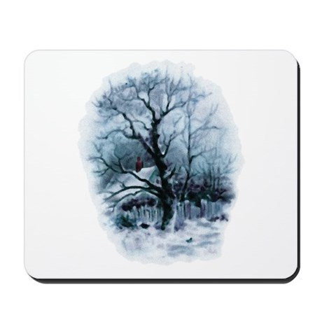 Winter Snowscene Mousepad
