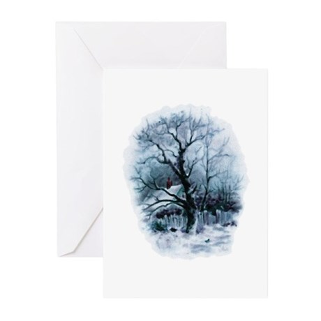 Winter Snowscene Greeting Cards (Pk of 20)
