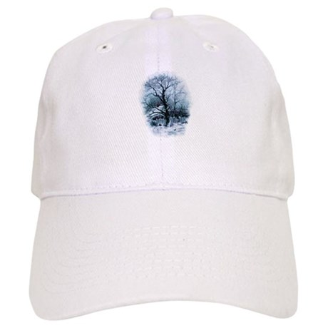 Winter Snowscene Cap