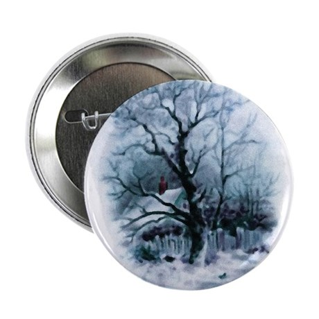 "Winter Snowscene 2.25"" Button (100 pack)"
