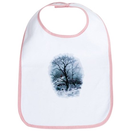 Winter Snowscene Bib