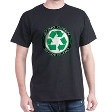 Going Green Rhode Island (Recycle) T-Shirt