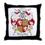 Eleizalde Family Crest Throw Pillow