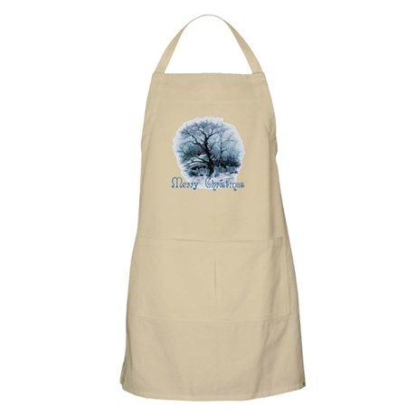 Merry Christmas BBQ Apron