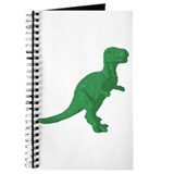 Green Oldschool T.rex Journal