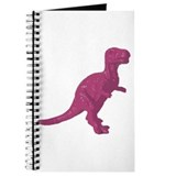 Pink Oldschool T.rex Journal