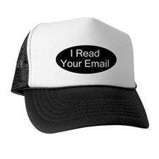 """I read your email"" Trucker Hat"
