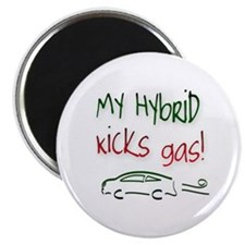 Hybrid Car Kicks Gas Magnet