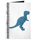 Light Blue Oldschool T.rex Journal