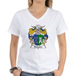 Donaire Family Crest Women's V-Neck T-Shirt