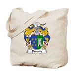 Donaire Family Crest Tote Bag