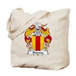 Diezma Family Crest Tote Bag