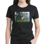 Lilies & Chihuahua Women's Dark T-Shirt