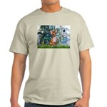 Lilies & Chihuahua Light T-Shirt