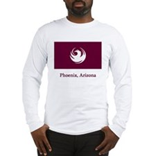 Phoenix AZ Flag Long Sleeve T-Shirt