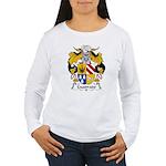 Cuadrado Family Crest Women's Long Sleeve T-Shirt