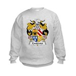 Cuadrado Family Crest Kids Sweatshirt