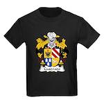 Cuadrado Family Crest Kids Dark T-Shirt