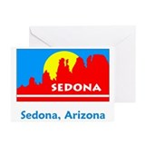 Sedona AZ Flag Greeting Cards (Pk of 10)