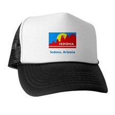 Sedona AZ Flag Trucker Hat
