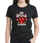 Colomina Family Crest Women's Dark T-Shirt