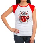 Colomina Family Crest Women's Cap Sleeve T-Shirt