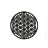 Flower Of Life Postcards (Package of 8)