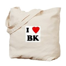 I Love BK Tote Bag